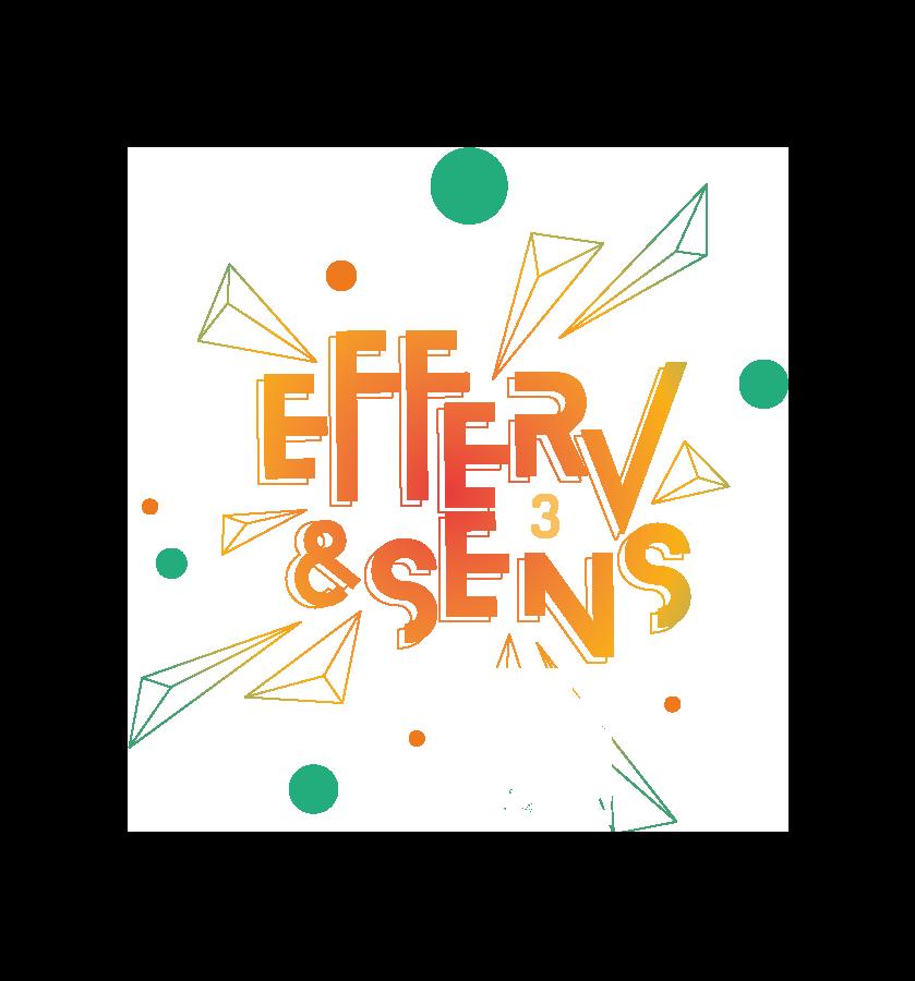 logo Efferv&Sens 3 les 17, 18 et 19 octobre 2020 àl'Hôtel Ibis du Futuroscope