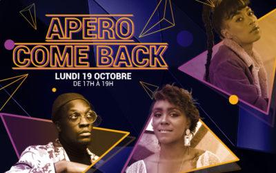 EFFERV&SENS3 _ SOIRÉE#3- APÉRO COME BACK