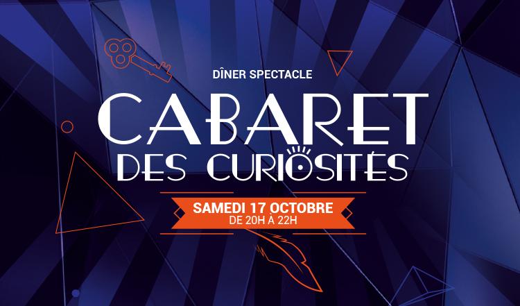 Cabaret des Curiosité du samedi 17 octobre à l'Ibis du futuroscope