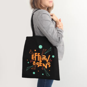 tote bag 2020 logo Efferv&Sens couleur