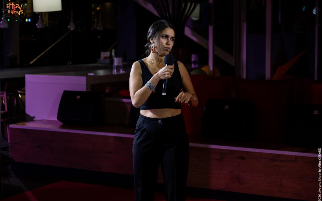 Eva_Efferv&Sens_one-woman show_Poitiers