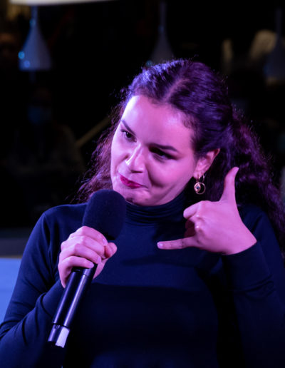 Hajare Akiri-One Woman Show - Cabaret des Curiosités_Efferv&Sens à Poitiers