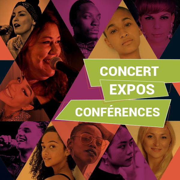 programme des concerts, expos, conférences