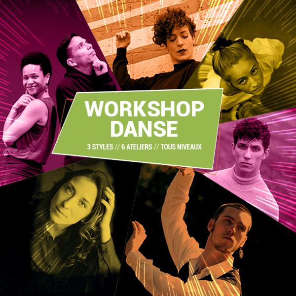 6 workshop de danse